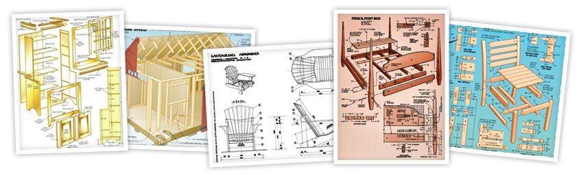 Voorbeelden van bouwtekeningen