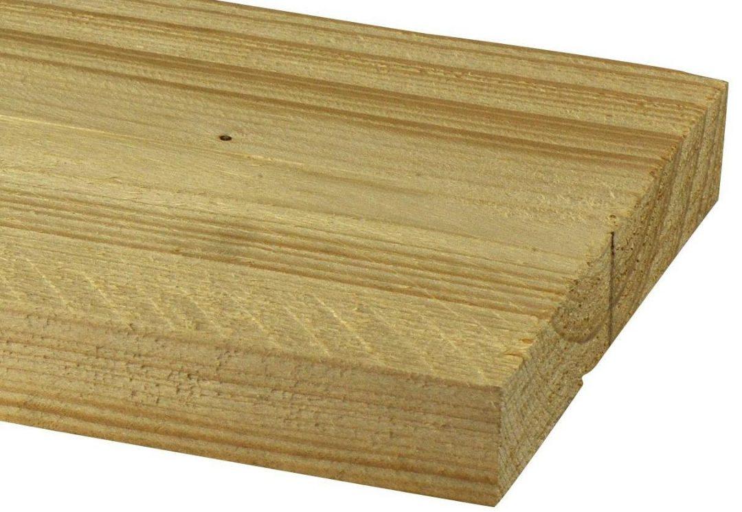 Blank of nieuw steigerhout