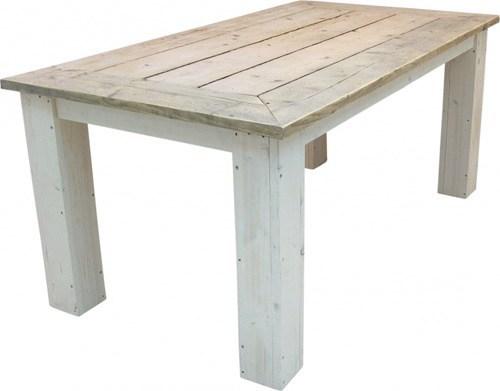 Steigerhouten tafel nodig maak je steigerhouten tafel for Bouwtekening tafel