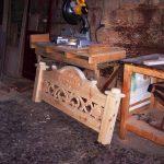 Op zoek naar een bouwtekening van een steigerhouten bed?