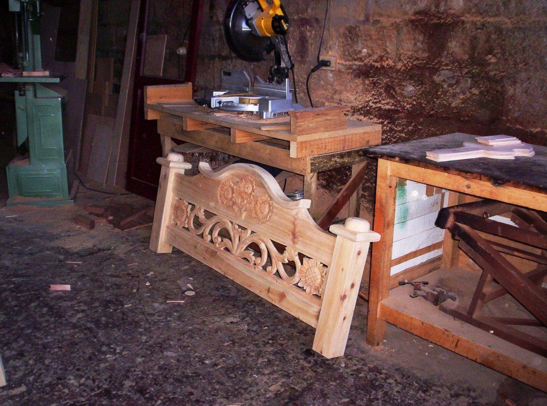 Steigerhouten Bed maken