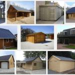 Zelf een houten garage bouwen