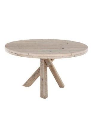 Steigerhouten ronde tafel maken klik hier Steigerhouten tafel met steigerbuizen zelf maken