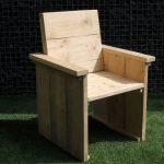 Zelf een steigerhouten stoel bouwen?