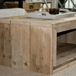 Een steigerhouten salontafel maken?