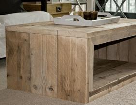Steigerhouten salontafel maken hoe doe je dat klik hier - Hoe een vierkante salon te voorzien ...