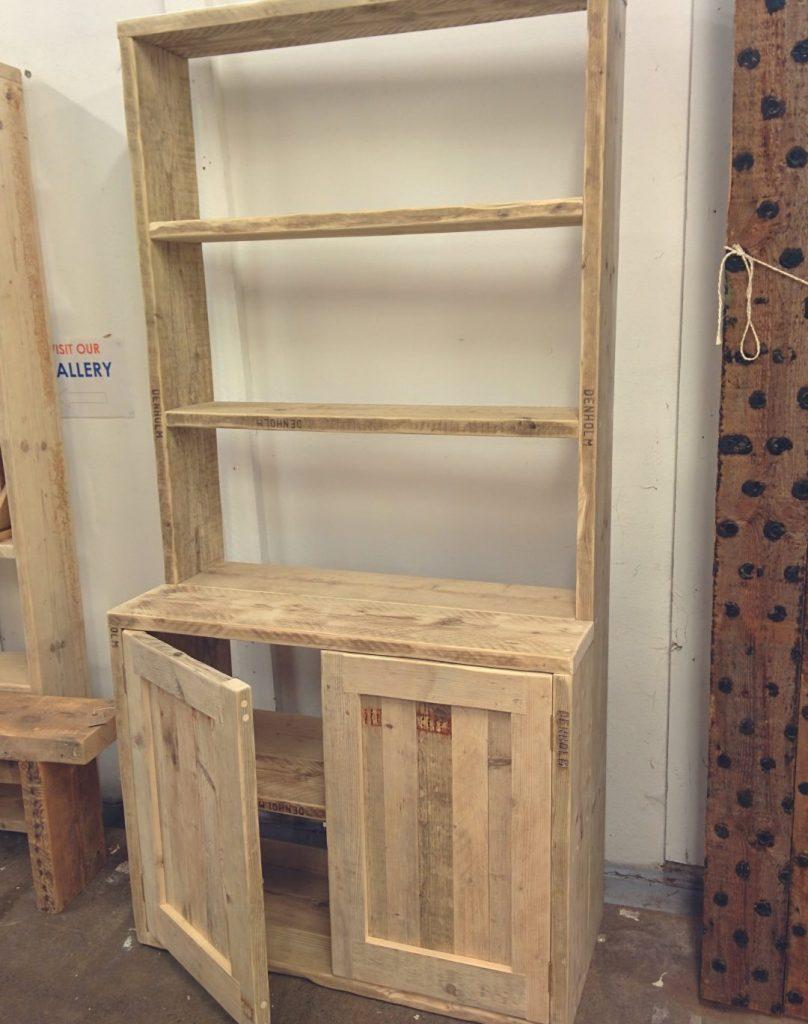 Bouwtekening steigerhout nodig klik hier - Maken van zijn boekenkast ...