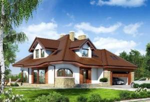 Bouwtekening voor een huis