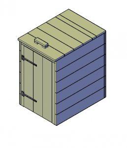 Kliko ombouw bouwtekening Type B