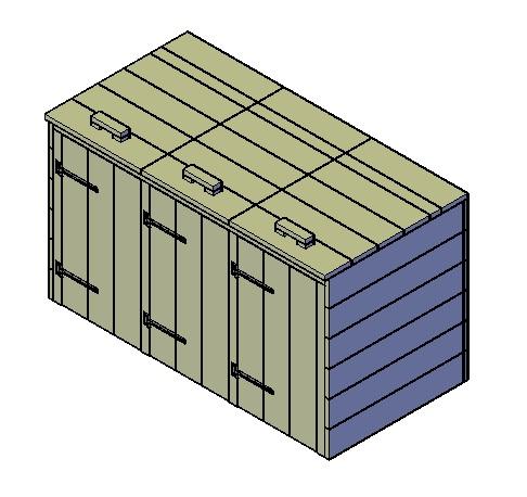 Kliko-ombouw maken 3 klikos Type B