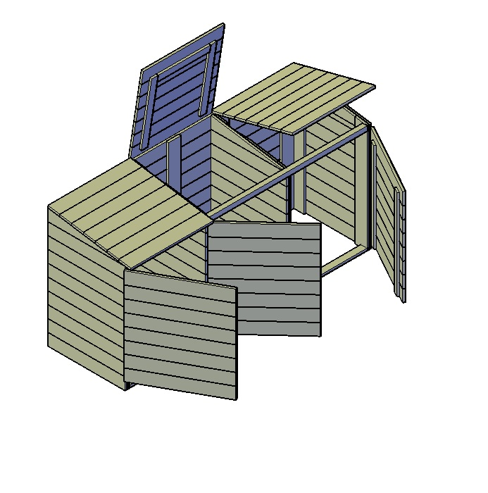 Kliko ombouw bouwen 3 kliko's