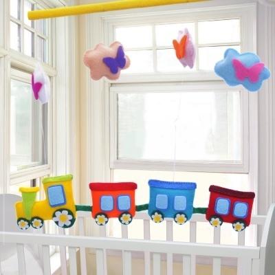 Steigerhout babykamer