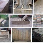 Met gebruikt steigerhout meubels maken