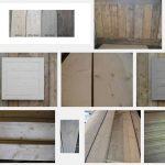Met geschuurd steigerhout meubels maken