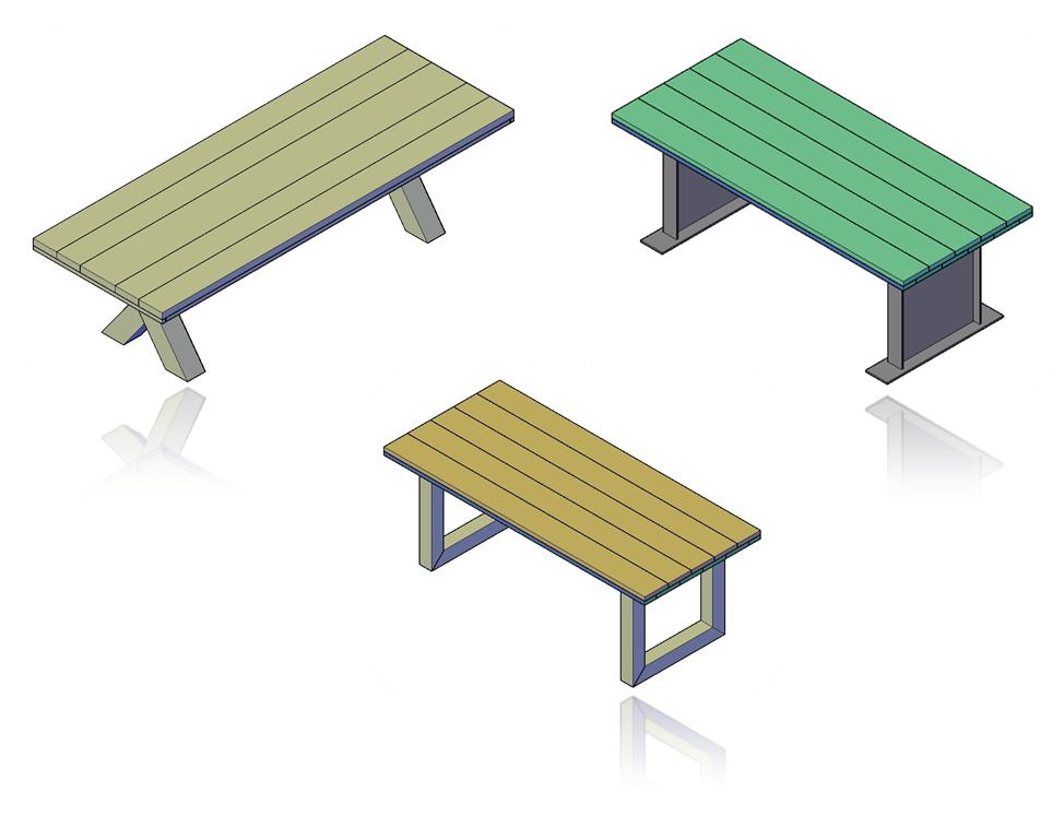 Eettafel bouwtekeningen