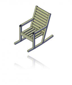 houten schommelstoel zelf maken
