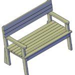 Geef je tuin een boost met een houten tuinbank!