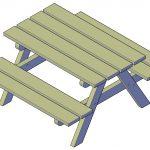 Picknicktafel maken, doe-het-zelf project!