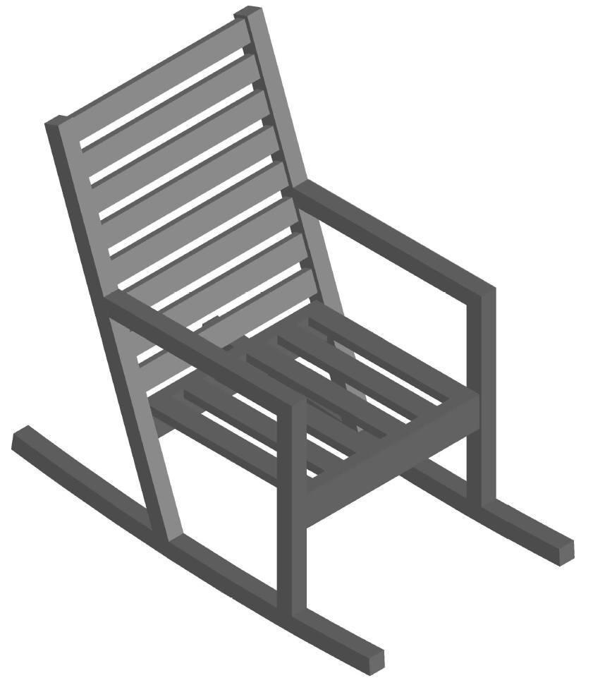 Maak je eigen schommelstoel met een schommelstoel bouwtekening!