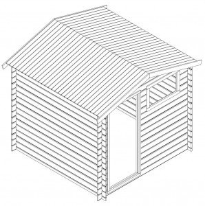 Tuinhuis bouwen