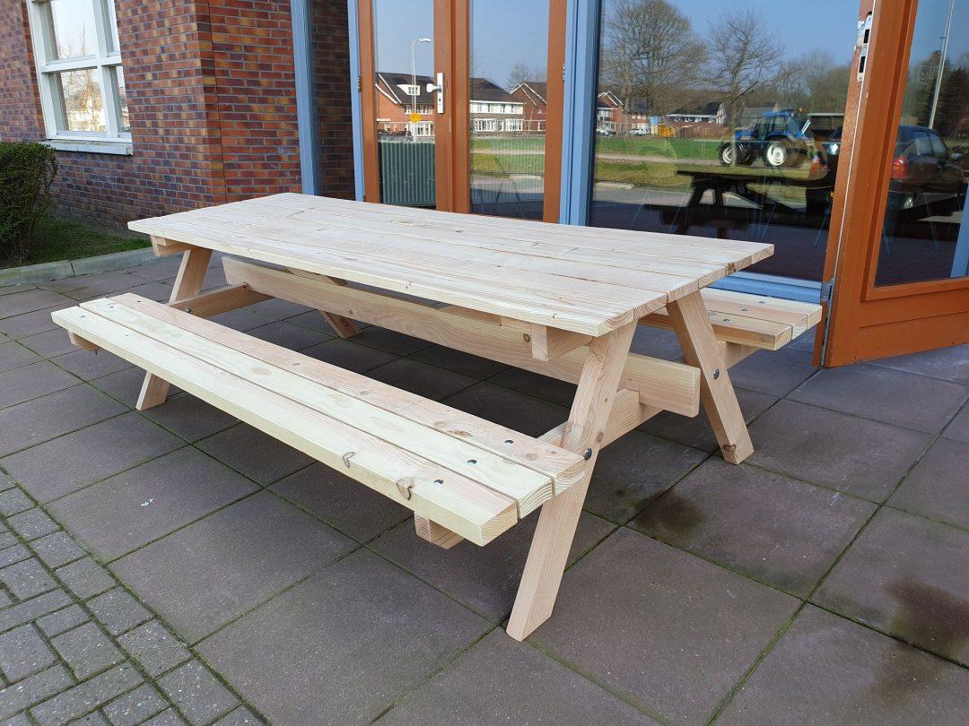 meubel maken: Grote picknicktafel
