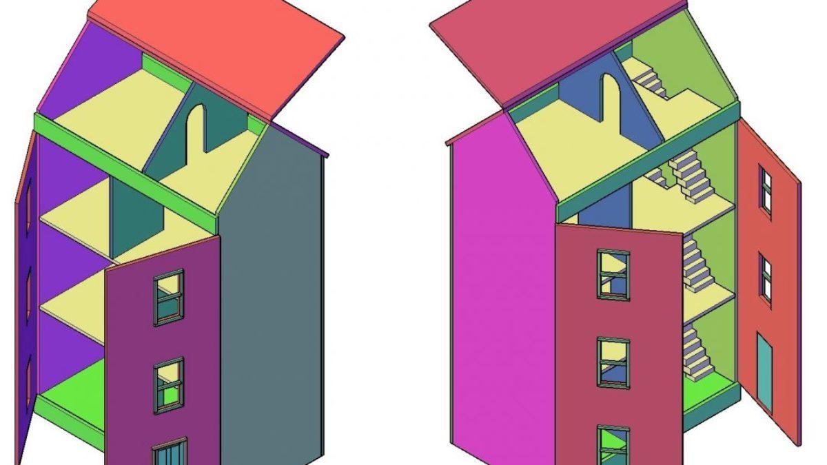 Wonderbaar Poppenhuis bouwtekening nodig? (Klik Nu Hier) ZO-26
