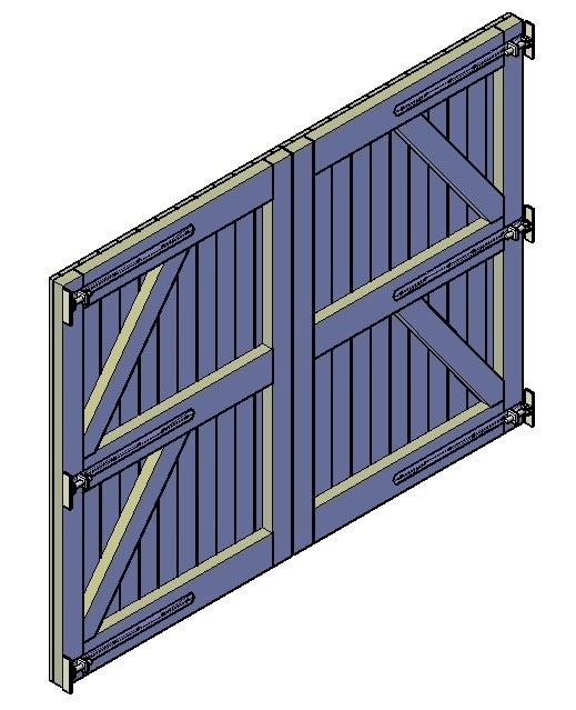 Wonderlijk Houten poort maken: checklist, stappenplan en bouwtekening IH-49