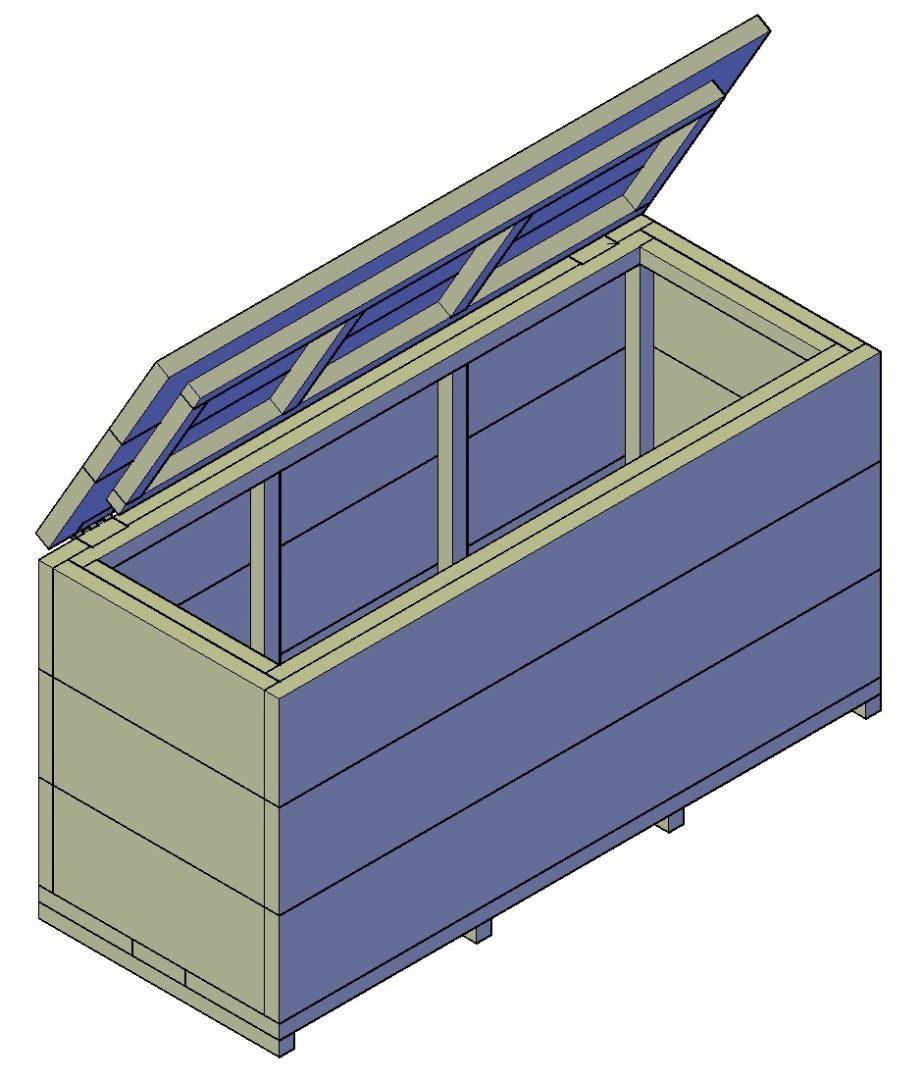houten kist maken