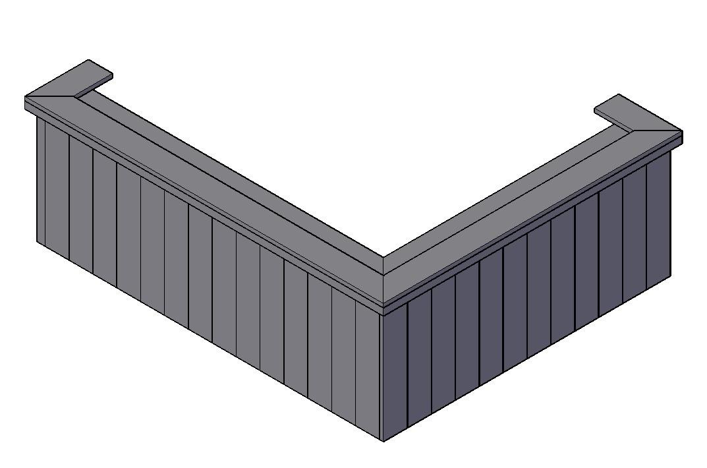 Bar bouwtekening