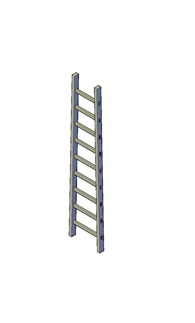 houten ladder maken