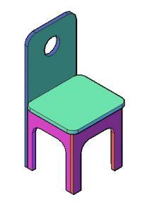 Kinderstoel maken