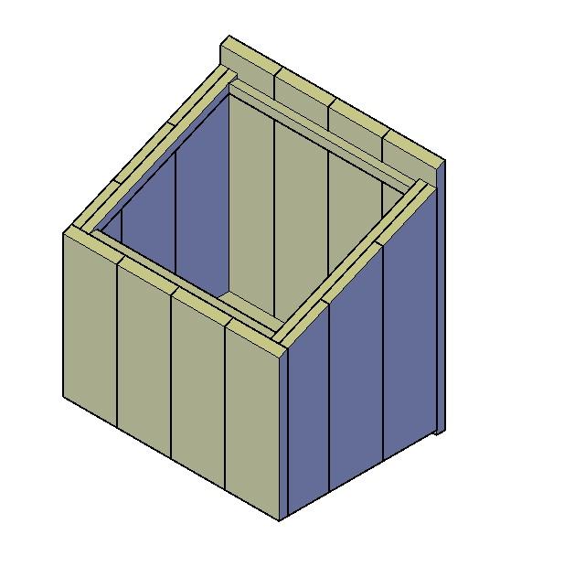 Hoe kan ik een kast onder een schuine wand zelf maken - Planken maken in een kast ...