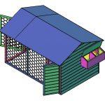 Bouwtekening kippenhok: Waarom een goede bouwtekening van een kippenhok noodzakelijk is.
