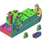 Speelgoed containerschip: hoe maak je dat?