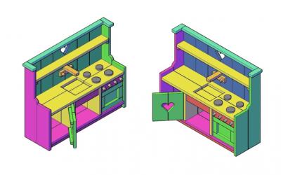 Houten speelgoedkeuken zelf maken