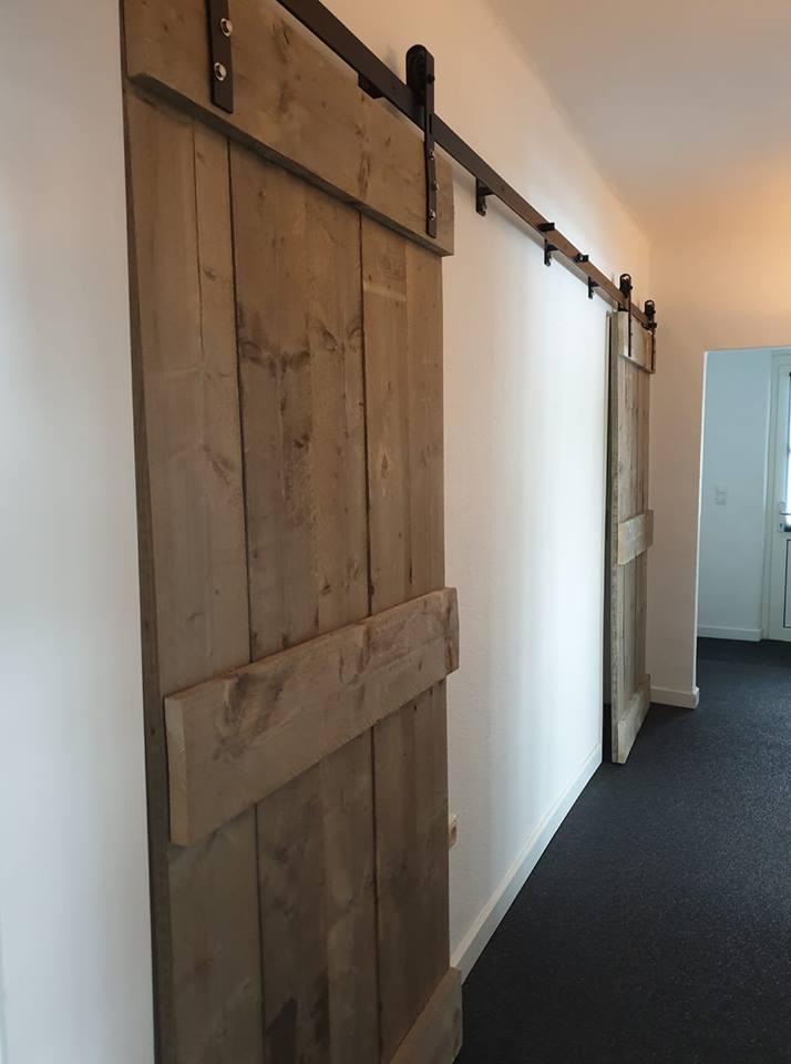 Genoeg Een schuifdeur maken hoe doe je dat? Gratis stappenplan #QD33