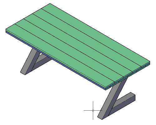 Industriële tafel maken: Zelfbouw tafel met stalen Z-poot